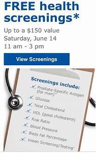 Free Mens Health Screening at SAMs Club on June 14 - Who ...