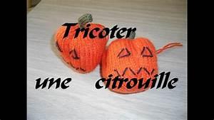 Une Citrouille Pour Halloween : tuto tricoter une citrouille pour halloween simple et ~ Carolinahurricanesstore.com Idées de Décoration