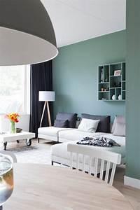 Dco Salon Comment Choisir Le Bon Vert Pour Ses Murs