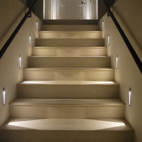 lights for stairs how properly to light up your indoor stairway