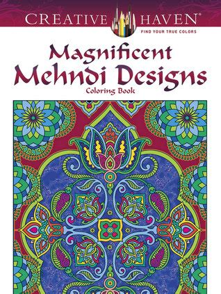 creative haven magnificent mehndi designs coloring book  marty noble