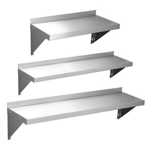 mm commercial stainless steel wall shelf