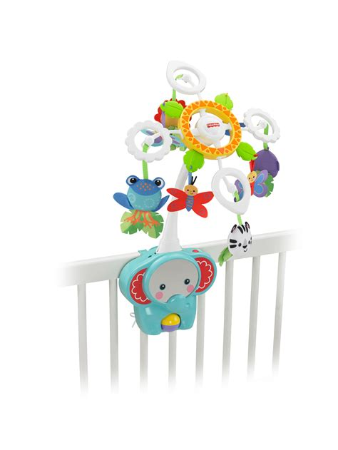 fisher price crib mobile fisher price rainforest crib to floor mobile