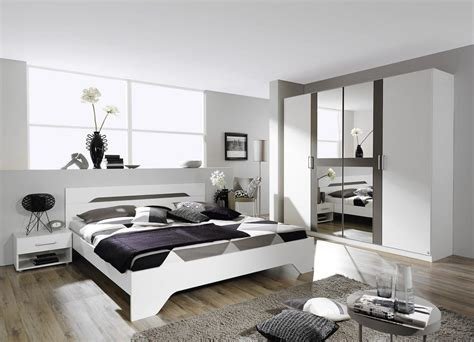 chambre moderne blanche chambre grise et blanche 19 idées et modernes pour se