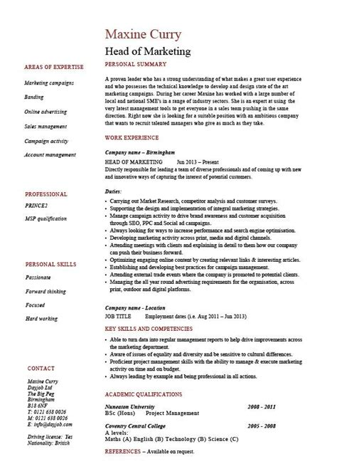 Key Skills Resume by Of Marketing Resume Salary Wages Description