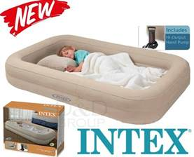 intex inflatable travel bed kids child airbed toddler