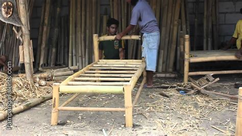 bamboo furniture maker  pampanga philippines youtube