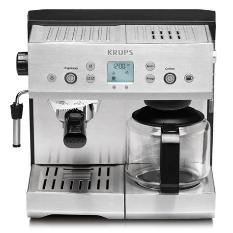 krups precise tamp coffee maker espresso machine cutlery