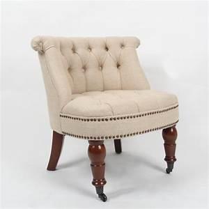 Fauteuil Crapaud Beige : fauteuil crapaud capitonn et clout beige westfield ~ Teatrodelosmanantiales.com Idées de Décoration