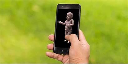 Android Phone Gifs Whatsapp Happy Smartphone Messenger