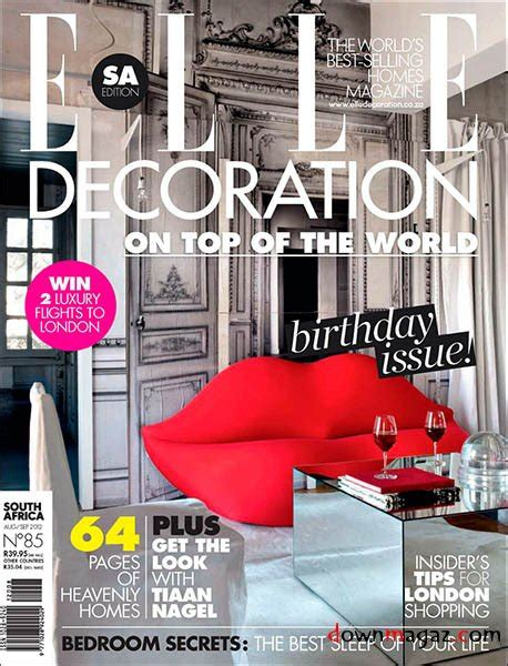 Decor Magazines South Africa by Decoration Sa August September 2012 187 Pdf