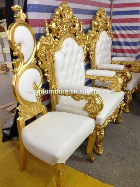 style royal throne king chairs for hotel halls and