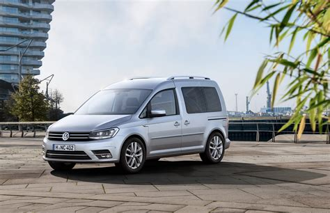 volkswagen caddy images vw unveils fourth generation caddy carscoops