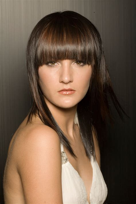 Free Designs and Lifestyles: Fringe Bang Hairstyles