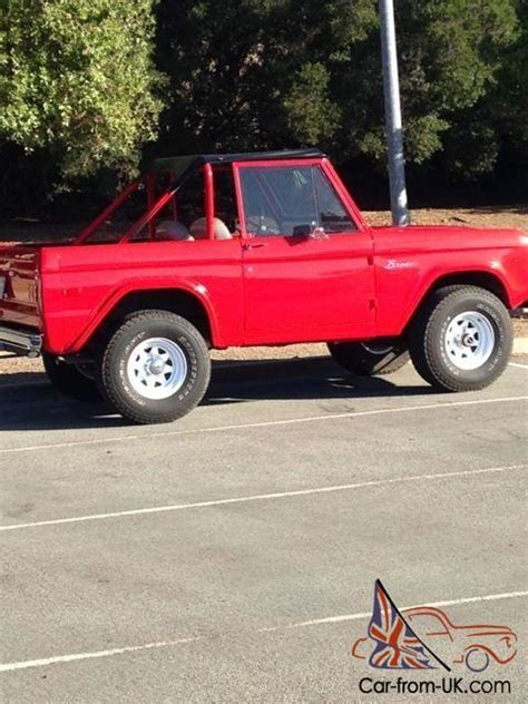 ford bronco  removable doors  removable top