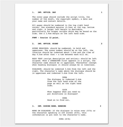 documentary script template script outline template 12 exles for word pdf format