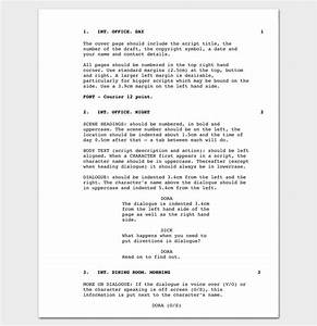 script outline template 12 examples for word pdf format With documentary script template