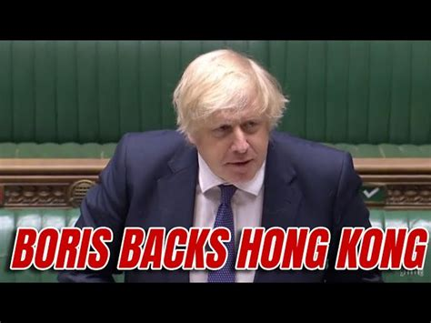 Boris Confirms UK Pledge to Hong Kong's BNOs - KazPost