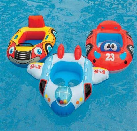 siege bebe gonflable intexbaby piscine flottante anneau unisexe enfant