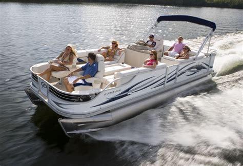 research  crest pontoon boats  crest ii xrs
