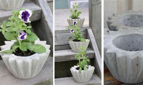 Blumentöpfe Selber Machen Beton by Gartendeko Aus Beton Selber Machen 28 Sch 246 Ne Ideen