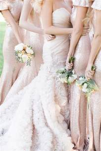 floral bridesmaids robes gold sequined bridesmaid dresses with sleeves deer pearl flowers
