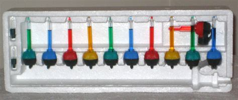 mini bubble light string sold mini miniature bubble lights set 2 inch tubes