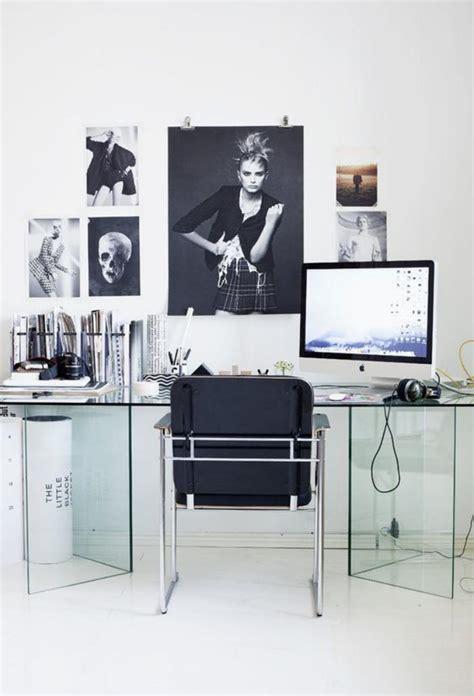 meuble bureau verre bureau design bois verre mzaol com