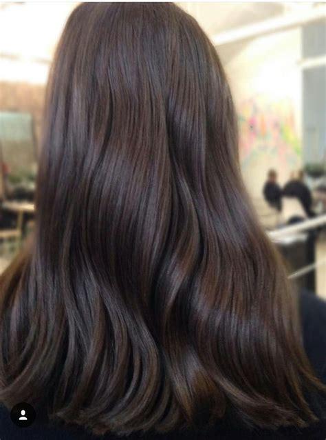 rich chocolate brown dark brown hair rich brunette hair