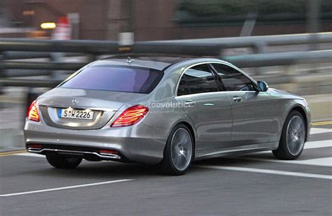 New Mercedes Sclass by Spyshots 2014 Mercedes S Class Totally Undisguised