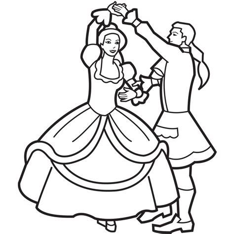 picture   girl dancing   clip art