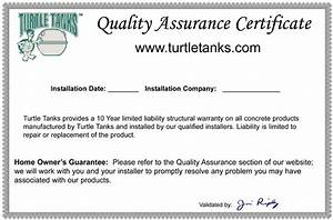 qa certificate With quality assurance certificate template