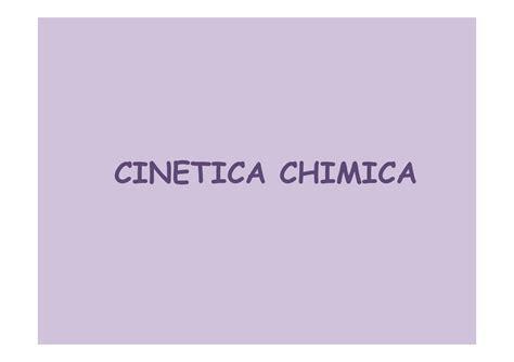 dispense chimica generale cinetica chimica appunti di chimica generale