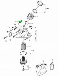 Porsche Cayenne Engine Oil Pressure Switch 95560609102