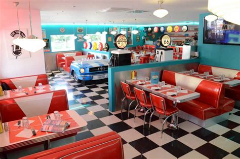 cuisine vintage 馥s 50 déco cuisine diner americain