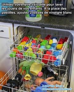 Faire Son Produit Lave Vaisselle : l 39 astuce pour laver et d sinfecter facilement les jouets ~ Nature-et-papiers.com Idées de Décoration