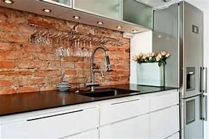Revêtement Mural Cuisine : plaque revetement mural maison design ~ Farleysfitness.com Idées de Décoration