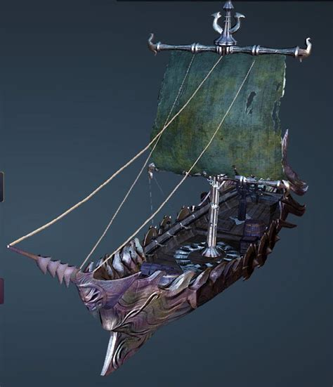 Bdo Fishing Boat For Epheria Sailboat by Bdo Fashion Dark Thorn Fishing Boat Black Desert Online