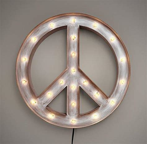 Peace Sign Wall Art  P Wall Decal