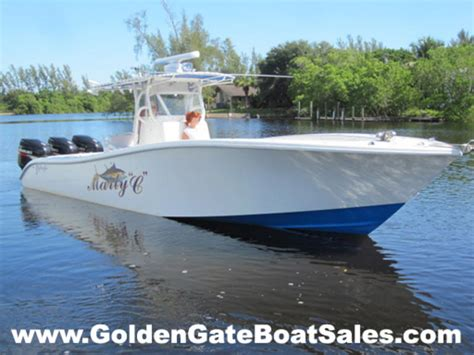 Boat Engine Hours Vs Miles by 2005 Yellowfin 34 Center Console Powerboat For Sale In Florida