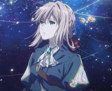 imagen de anime gif  anime girl violet evergarden