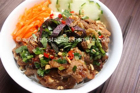 cuisine vietnamienne recette porc la kitchenette de miss tâm