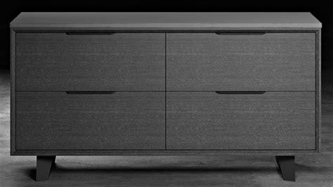 Grey Credenza - modern adal file credenza concrete on gray oak zuri