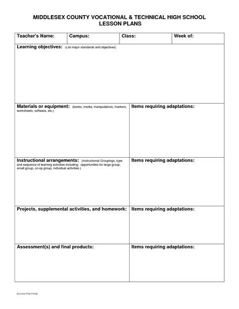 high school lesson plan template 15 best images of lesson plan worksheets for teachers 2nd grade morning math worksheets