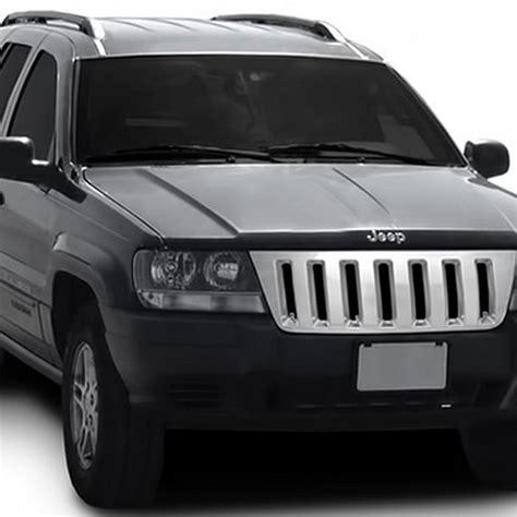 jeep bumper grill 1999 2004 jeep grand cherokee wj abs plastic chrome front