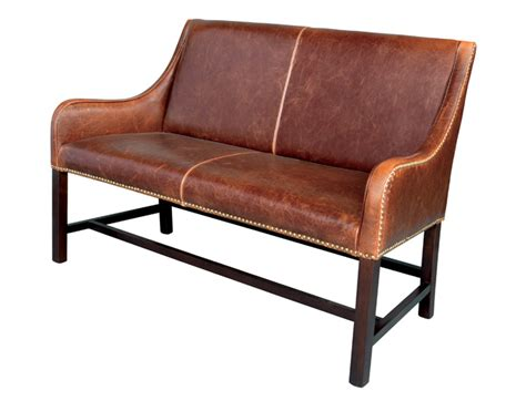 Settee Leather by Leather Settee Seating