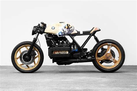 Modified Bmw K100 by Custom Bmw K100 Cafe Racer Motor Impuls