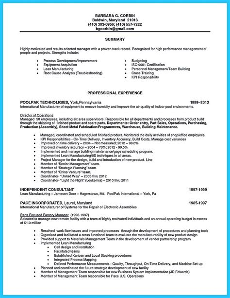 Assembly Line Resume by Pin On Resume Template Line Worker Resume Assembly Line