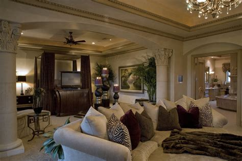 large ceiling fans with remote control master suite mediterranean bedroom las vegas by