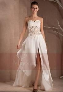 robes de soire pour mariage robe soiree pas cher holidays oo With robe blanche ceremonie femme